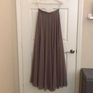 Bridesmaid Maxi Skirt